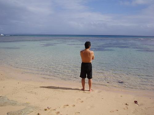 きれいな海にうっとり