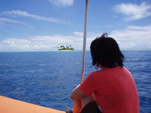 JEEP島をのぞむ