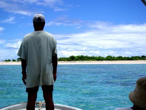 JEEP島の船頭さん