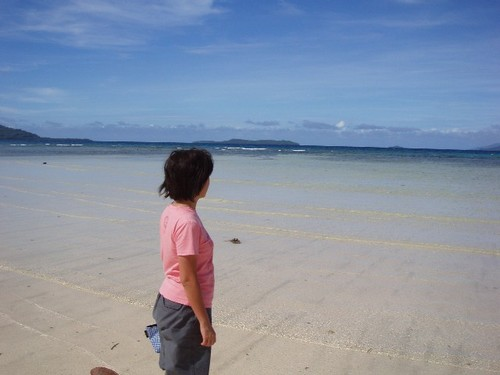 Blue_Lagoon_Resort前のビーチ